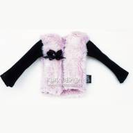 Шубка fur jacket Monster high